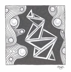 Zentangle - Patterns: ING and Nipa