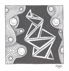 Zentangle - Patterns: ING and Nipa