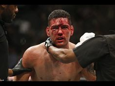 LUKE ROCKHOLD beats Chris Weidman at UFC 194 by TKO after brutal fight t...