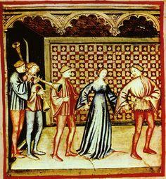 Medieval dance  http://en.academic.ru/pictures/enwiki/52/40-svaghi,suono_e_ballo,Taccuino_Sanitatis,_Casanatense_4182.jpg