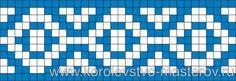 Схема для вязания жаккардового узора, схемы для вязания жаккардовых узоров, спицами