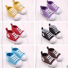 Kids' Clothing, Shoes & Accs Clothing, Shoes & Accessories Baby Toddler Infant Canvas Lace Up Sneaker Shoe Size 4 To 9 Boys Girls Unisex Do You Want To Buy Some Chinese Native Produce?