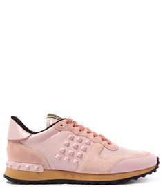 Valentino Suede Rockrunner Trainers | Womenswear | Liberty.co.uk