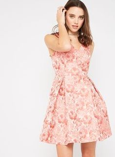 PETITE Bow Shoulder Dress