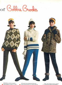 Colleen Corby Bobbie Brooks (Ski) 1963 2 by Matthew Sutton (shooby32), via Flickr 60s Fashion Trends, Seventies Fashion, Ski Fashion, 1960s Fashion, Teen Fashion, Vintage Fashion, Fashion Design, Retro Outfits, Cool Outfits