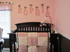 Pink and brown crib bedding pink and brown nursery the crib bedding set we chose inspired the colors brown and pink everything else was my idea including Rustic Nursery, Baby Nursery Decor, Baby Decor, Nursery Room, Girl Nursery, Girl Room, Baby Room, Nursery Ideas, Brown Nursery