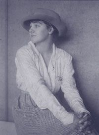 Isabel Letham (1899-1995) Australian surfer and surfing instructor and the first Australian to ride a surfboard