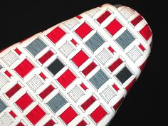 Ironing Board cover made in Robert Kaufman-Sew Happy-Red Black Grey and White Spools of Thread Red Black, Grey And White, Ironing Board Covers, Thread Spools, Robert Kaufman, Bold Colors, Spice Things Up, Color Splash, Sewing Projects