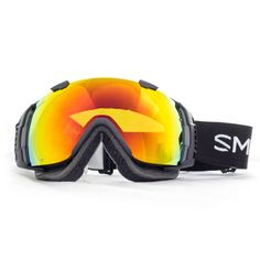 888d2ce258a4 Smith I O Snow Goggle in Black with Red SolX Lens New Goggles