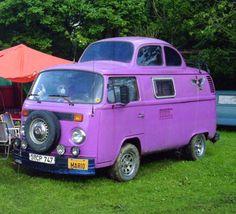 VW fusion purple power