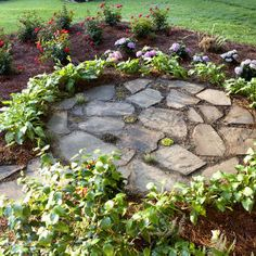 Landscape Ideas Front Yard Curb Appeal Southern Living 15 Best Ideas - All For Garden Home Landscaping, Landscaping With Rocks, Front Yard Landscaping, Landscaping Software, Landscape Design, Garden Design, Front Yard Patio, Porch, Front Yards