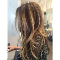 My all time most favorite color EVER!!! #haircolor & #blowdry by me…