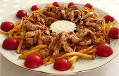 Günün iftar menüsü ve pratik yemekleri | Hür Haber - Türkiye Haberleri Y Food, Iftar, Pulled Pork, Yogurt, Chicken, Meat, Ethnic Recipes, Buffalo Chicken, Cubs