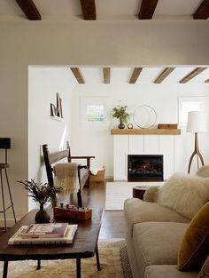 A cozy reading corner