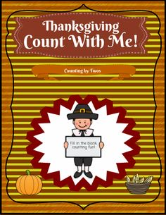 Count With Me is an activity for students to practice counting, from 1-120, but with a random starting point. All they need is a pencil, and they can fill in the blank squares to continue the number sequence, counting upwards by twos. See my 'Count With Me!' series for more fun activities.