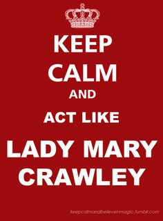 OMG! Addicted to Downton Abbey.  Especially considering I used to hate Mary, and now she's one of my favorite characters
