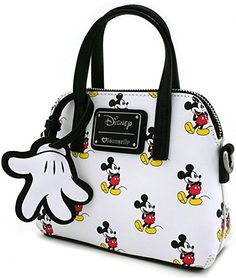 Loungefly x Mickey Print Micro Dome Crossbody Bag Coach Purses, Purses And Bags, Backpack Purse, Crossbody Bag, Disney Purse, Couple Jewelry, Stylish Handbags, Coin Bag, Disney Mickey Mouse