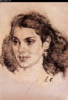 Nikolay Fechin Mexican girl