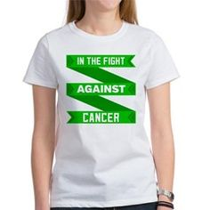 Kidney Cancer Fight Tee>  Kidney Cancer In The Fight Shirts> Hope Awareness Ribbon Shirts and Gifts