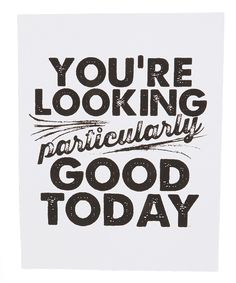 you are :)