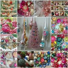 I love, love, love vintage ornaments