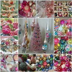 I love, love, love vintage ornaments