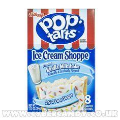 Kelloggs Pop Tarts Frosted Vanilla Milkshake