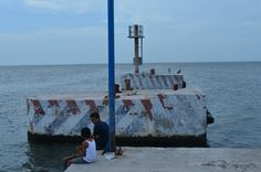 Puerto de Chiquilá, Quintana Roo, México.
