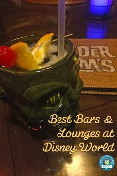 Best Bars and Lounges at Disney World