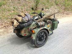 Ural sidecar