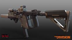 ArtStation - Tom Clancy's The Division - Kriss Vector, Mike Climer