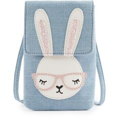 Pure Cotton Bunny Cross Body Bag (1-7 Years) M&S (1 130 UAH) ❤ liked on Polyvore featuring bags, backpacks, accessories, blue, bolsas, blue backpack, backpack crossbody, cotton bags, cross body and day pack backpack