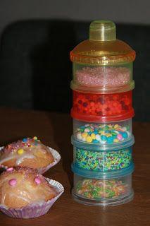 Handig voor cupcakes