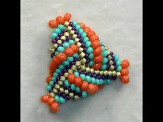 Triangulation - Dimensional Beaded Triangles~ Seed Bead Tutorials