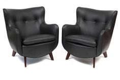 Vintage Chairs - Early George Nelson Herman Miller Club Chairs
