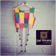 block print blouse