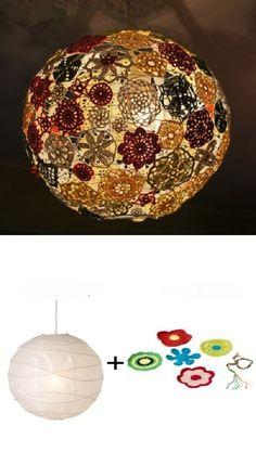 crochet light ball lamp shade free pattern crochet lamp shade free patterns globes. Black Bedroom Furniture Sets. Home Design Ideas