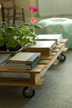 Bricoler une table basse en palette de bois
