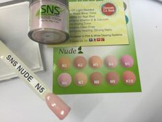Sns Nude Collection Via Katebs03 On Ebay Dip Nails Color