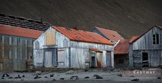Stromness House (South Georgia - old whaling station) by Peter Eastway on