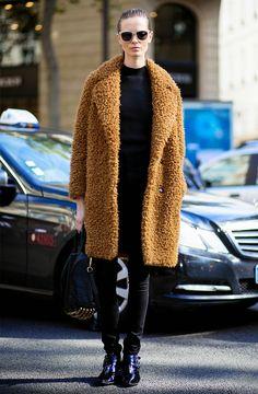 Parisienne: Teddy Bear Coat