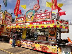 Image result for theme park food booths