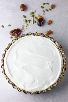 Simple and lovely, this easy no-bake vegan cheesecake is light, creamy and subtly sweet with a perfectly silky texture from a surprise ingredient.