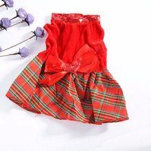 5 Tamanho Novo Vestido de Festa de Natal Roupa Do Cão de Estimação Do Gato Do Cão da Manta Arco Vestuário alishoppbrasil
