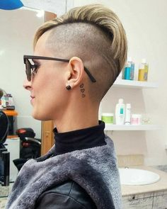 Cool Short hair styles #hairdare