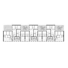 Detail Architecture, Plans Architecture, School Architecture, Co Housing, Social Housing, Store Toile, Interior Design Your Home, Flat Plan, Architectural Floor Plans