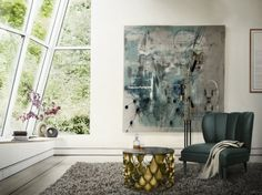 So erhält man ein Mid-Century Look  see more: http://wohn-designtrend.de/erhaelt-man-ein-mid-century-look/