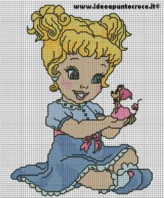 BABY Cinderella cross stitch