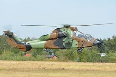 Eurocopter EC-665 Tiger HAD / F-MBJE / French Army / EPBC Warsaw Babice