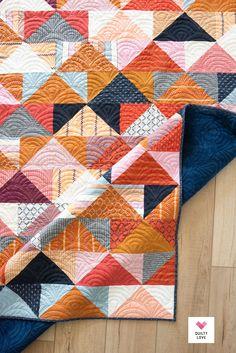 Quilting Tutorials, Quilting Ideas, Flying Geese Quilt, Quilt Modernen, Quilt Making, Textile Art, Baby Quilts, Quilt Blocks, Fiber Art